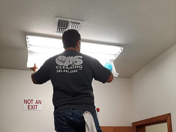 A&S replacing lighting